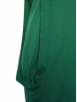 Green virgin wool long sleeves dress Prix boutique €800 Size S