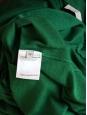 Robe manches longues en laine vierge vert empire Prix boutique 800€ Taille 36