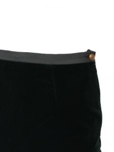 Jupe droit en velours vert impérial Prix boutique 700€ Taille 34