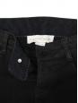 Jean slim fit à zips en coton noir Prix boutique 225€ Taille 36