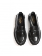 5C Black loafers with crepe sole NEW Retail price €455 Size 38