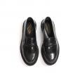 Mocassins TYPE 5C en cuir noir et semelle crêpe noir NEUFS Prix boutique 455€ Taille 38