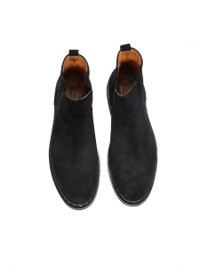 MOLENE Black suede Chelsea boots NEW Retail price €460 Size 37