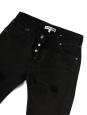 Black slim jeans NEW Retail price €260 Size 24 or XXS