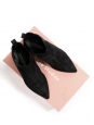 Bottines Chelsea JENSEN en suède noir Prix boutique 450€ Taille 37