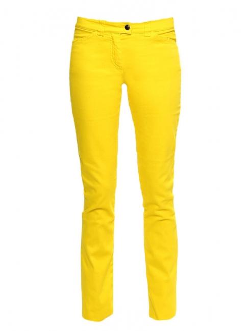Jean slim fit taille basse en coton stretch jaune soleil Prix boutique 280€  Taille 34 73e1b028b0cb