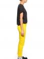 Sunshine yellow stretch cotton slim fit low waist denim jeans Retail price €280 Size XS