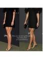Sandales à talon et bride cheville en cuir argent Prix boutique 500€ Taille 37