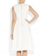 REGAN White stretch-crepe dress NEW Retail price €1130 Size XS
