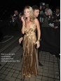 Gold silk-lamé ISADORA maxi dress Retail price $975 Size S