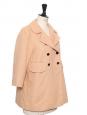 Veste en coton mélangé beige rosé Prix boutique 1200€ Taille 36