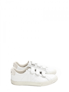 White leather ESPALR 3 LOCKS sneakers Retail price €110 Size 37