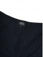 Pantalon MEGEVE fuselé tissé bleu marine Prix boutique 265€ Taille XS