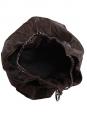 Sac large COCO cabas en cuir caviar brun foncé Px boutique 2000€