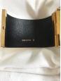 Bracelet manchette en laiton texturé or Prix boutique 560€ Taille M
