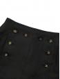 Jupe à pont en lin noir Prix boutique 1800€ Taille 34/36
