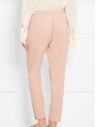 TAMARA Pink crepe tapered pants NEW Retail price €465 Size XS