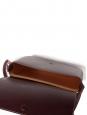 Sac LEA en cuir végétal bordeaux lie de vin NEUF Prix boutique 620€