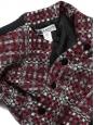 Veste de tailleur en tweed de laine à carreaux Prix boutique 1500€ Taille 38