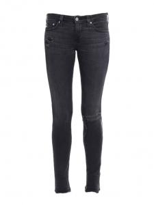 Jean skinny THE LEGGING en de nims stretch gris anthracite Prix boutique 180€ Taille XS