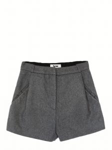 Short MACAU en feutre de laine gris Px boutique 207€ Taille 36