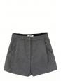 Short MACAU en feutre de laine gris Prix boutique 207€ Taille 36
