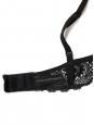 Soutien-gorge LE SOLEIL en dentelle crochet noir ébène Prix boutique 130€ Taille 85B