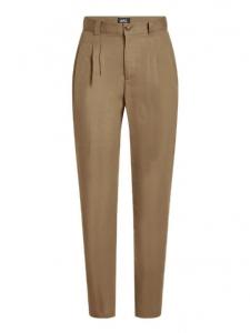 Pantalon Vanessa taille haute beige camel Taille 36