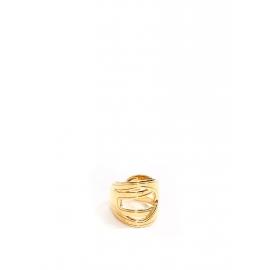 Bague ESTELLE en laiton doré NEUVE Prix boutique 80€ Taille 54