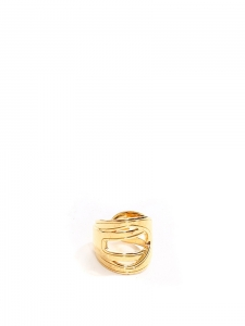 Bague ESTELLE en laiton doré NEUVE Px boutique 80€ Taille 54