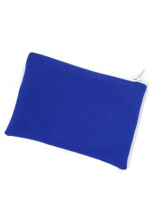 Pochette zippée TOMBOY en néoprène bleu, blanc et rouge