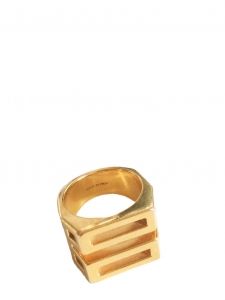 Golden brass BIANCA ring Retail price €230