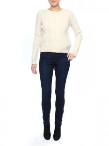 Pantalon legging en denim ciré stretch bleu foncé Prix boutique 250€ NEUF Taille XS