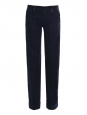 Navy blue with white stripes velvet pants Retail price €250 Size XS