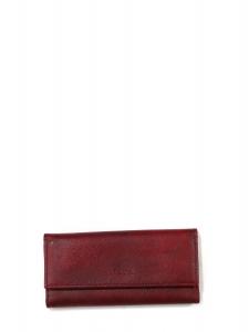 Porte-clefs en cuir Saffiano bordeaux Prix boutique 200€