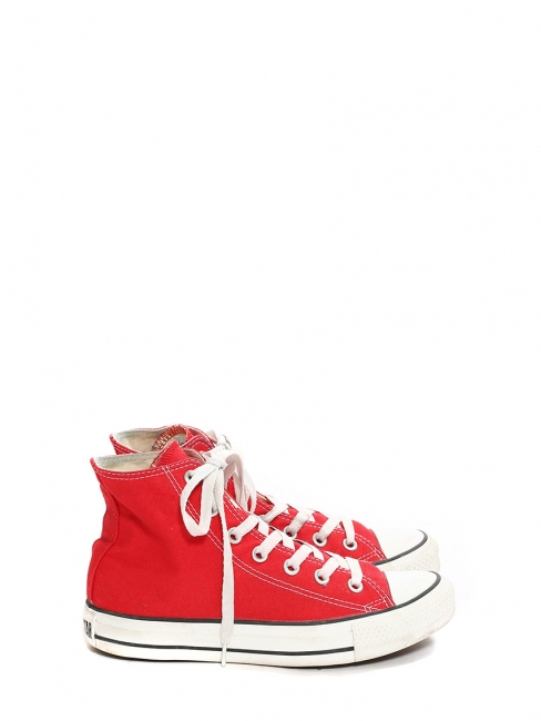 Chuck Taylor Classic All Star red high sneakers Size 37