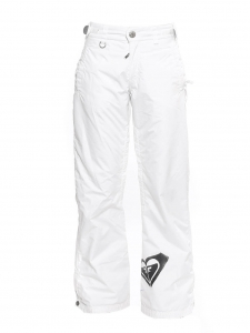 White polyester ski pants Retail price €150 Size 36