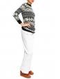 White polyester ski pants Retail price €150 Size 36