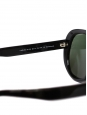 Black Aviator sunglasses with polarized lenses Retail price €270