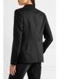 Black wool classic blazer jacket Retail price €1055 Size 38