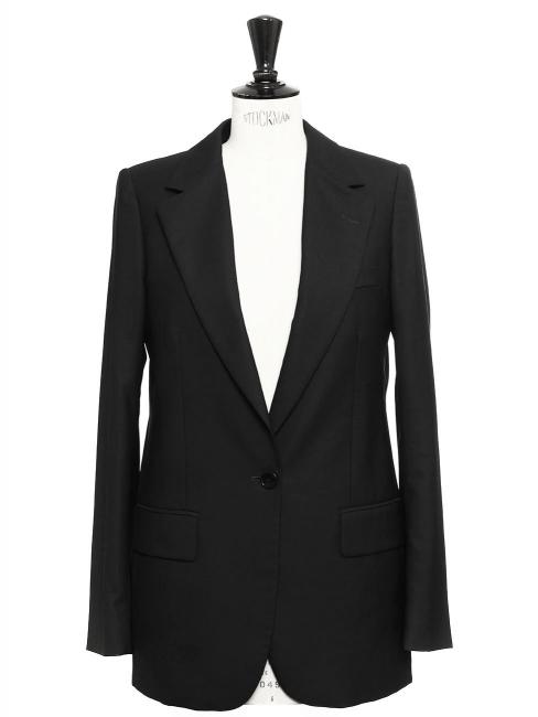 Veste blazer slim en laine noire Prix boutique 1055€ Taille 36