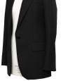 Veste blazer slim en laine noire Prix boutique 1055€ Taille 38