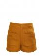 Short taille haute en tweed jaune moutarde Prix boutique 590€ Taille 38