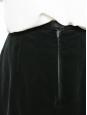 Jupe en velours et soie vert anglais Prix boutique 600€ Taille 38/40