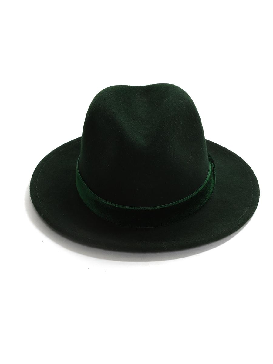 e725781fbc318 Louise Paris - EUGENIA KIM GEORGINA dark green wool-felt fedora hat ...