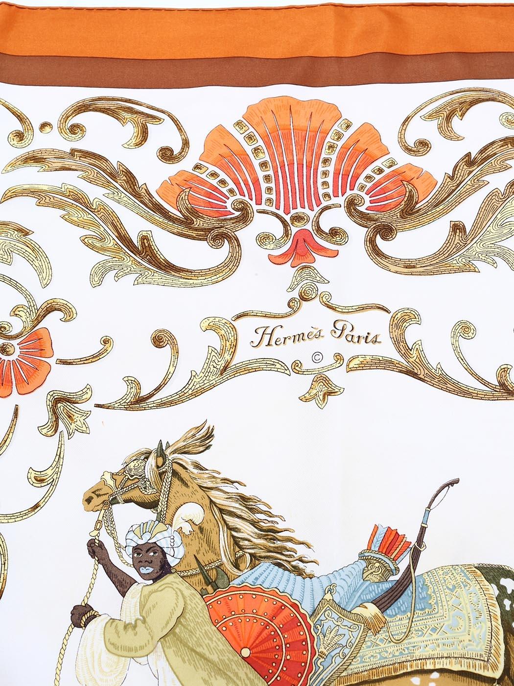 ... CHEVAL TURC printed silk twill square scarf Retail price €350 Size 90 x  90 ... 567d4f72db0