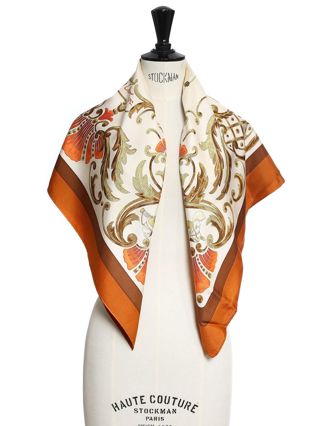 816aff73193c ... Foulard carré en twill de soie CHEVAL TURC Prix boutique 350€ Taille 90  x 90 ...