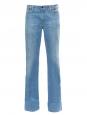 Jean flare en coton bleu clair Prix boutique 200€ Taille 38