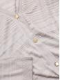 Gilet en soie et coton beige rosé et boutons dorés Prix boutique 550€ Taille 38