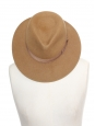 Hazelnut brown fur felt Borsalino hat NEW Retail price €280 Size 56